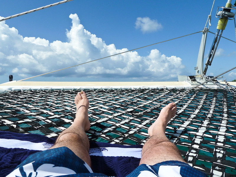 "RELAXING ON THE ""SAND DOLLAR"""