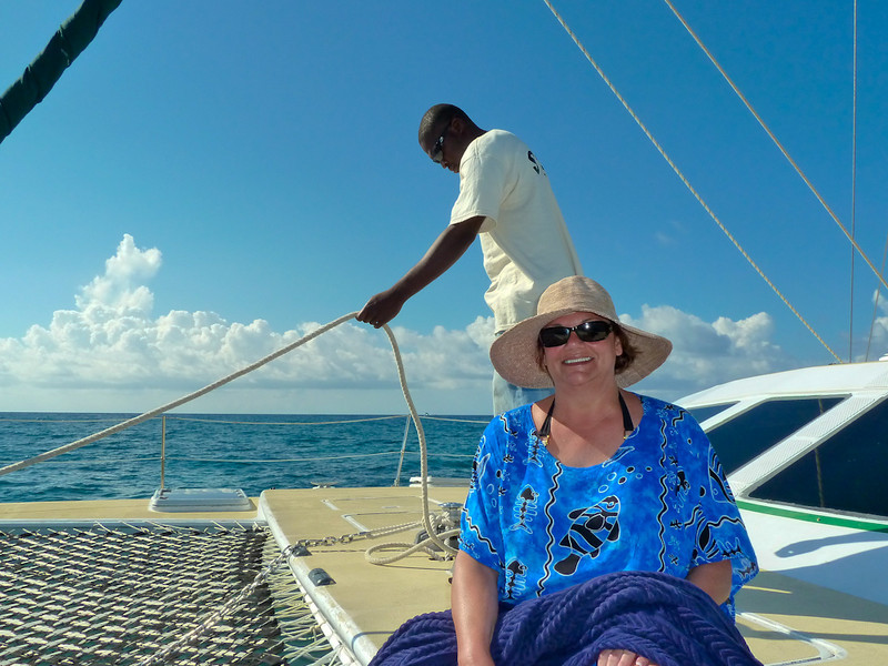 """SAIL AND SNORKEL"" ON THE ""SAND DOLLAR"""