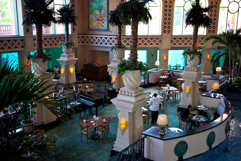 AQUARIUM RESTAURANT IN THE ROYAL TOWERS-ATLANTIS