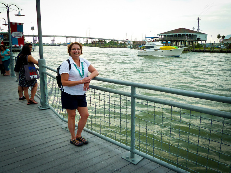 KIM ON THE KEMAH BOARDWALK