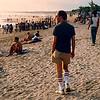 Kuta Beach, 1987.