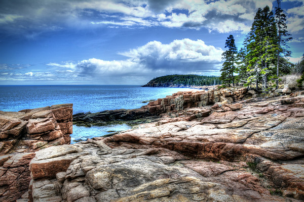 THUNDER HOLE-OTTER POINT, MAINE