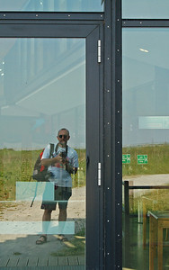 Locked out of the WatersEdge Visitor Centre, got there too late!