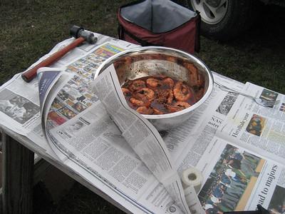BBQ Shrimp & Stone Crabs in Miami - feb. 3, 2007