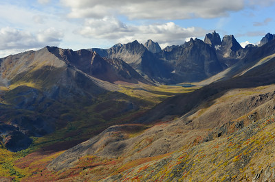 Tombstone Park, Yukon, Aug 2008 Grizzly Creek Valley