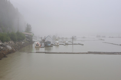 Harbor, Stewart BC, Aug 2008