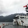 Leaving Horsehoe Bay