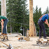 Lumberjack Show, Grouse Mountain, Vancouver