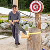 Lumberjack Show, Grouse Mountain, Vancouver