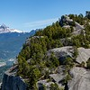 View of Mt. Garibaldi from the Stawamus Chief Trail