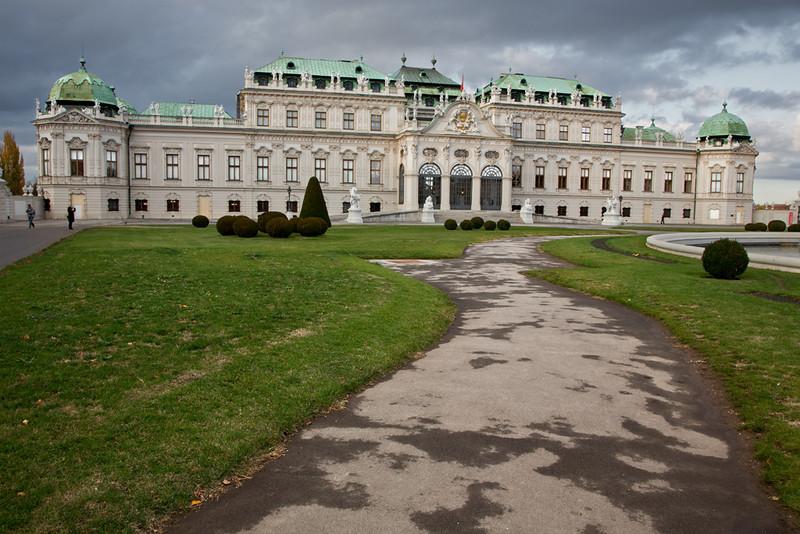 Southern Façade, Upper Belvedere Palace