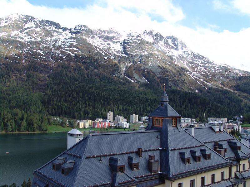 St. Moritz, Switzerland (from my hotel room)
