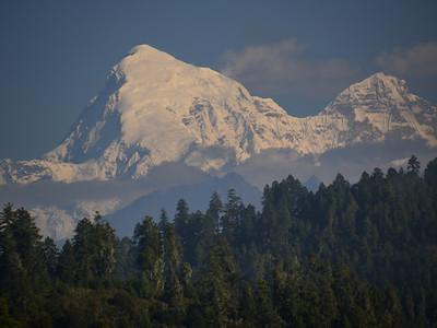 Mt Jomolhari, 2nd highest in Bhutan at 23,685 ft