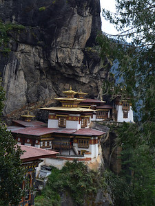 The Tigers Nest monastery.