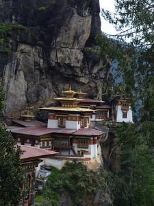 The Tigers Nest monastery.