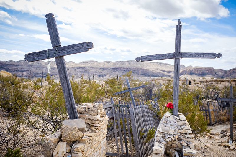"""""""GHOST TOWN"""" TERLINGUA CEMETERY"""