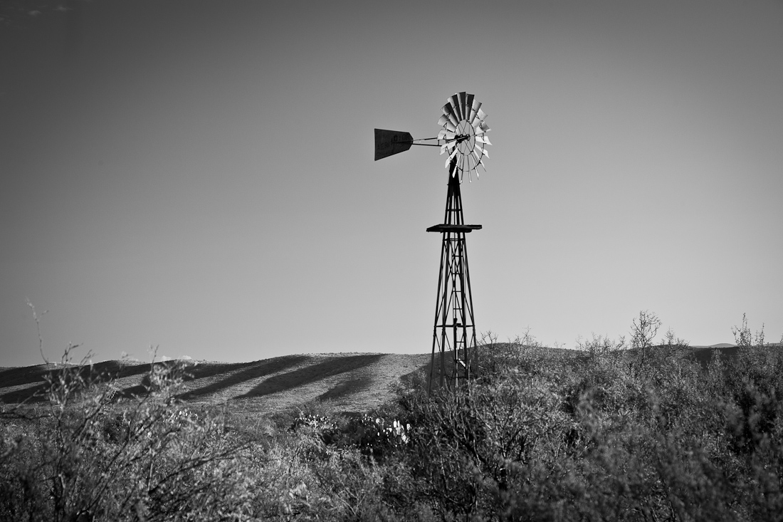 WINDMILL AT DUGOUT WELLS