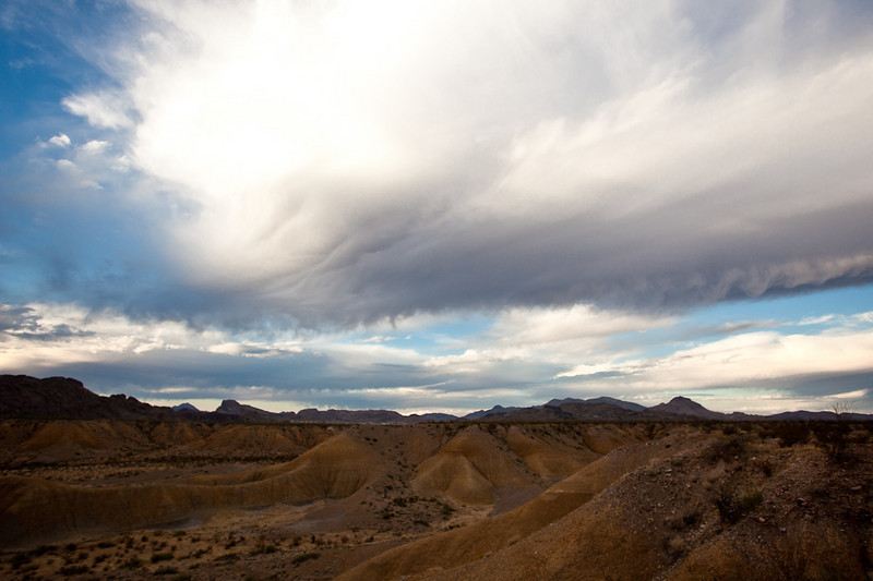 "CLOUDS OVER THE ""BADLANDS"""