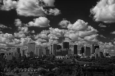 cityscape monochrome