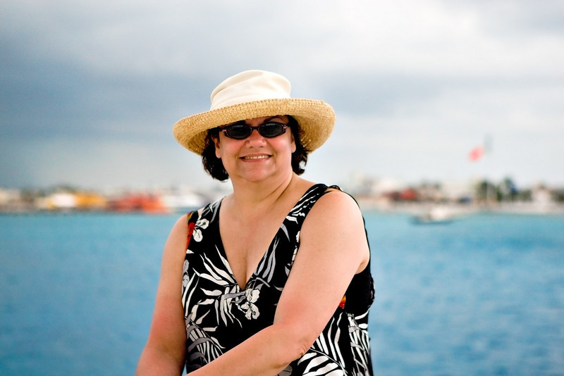 KIM IN COZUMEL