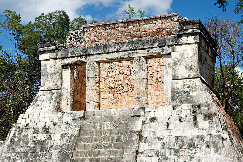 THE NORTH TEMPLE AT THE BALL COURT