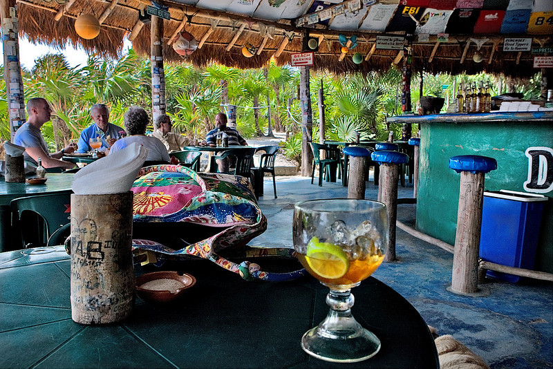 COCONUTS BAR AND GRILL - COZUMEL, MEXICO