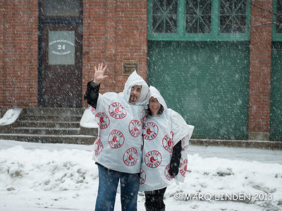 CHRIS AND ERIN OUTSIDE FENWAY PARK