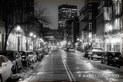 COLD NIGHT IN BOSTON