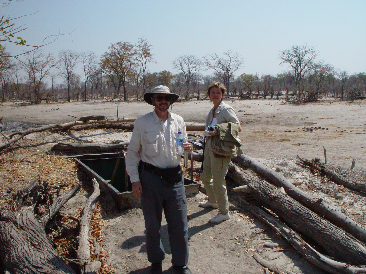 Going into the Elephant hide