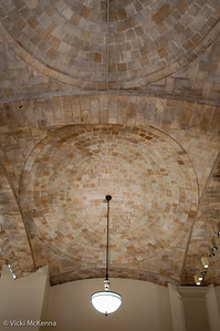 Vaulted tile ceiling by the Guastavina Company.