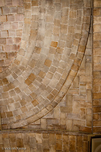 Detail of tile vaulting by the Guastavino Company.