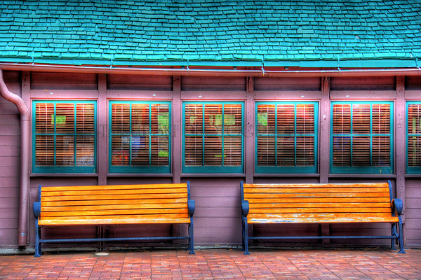 """BENCHES"", BRYCE CANYON LODGE"