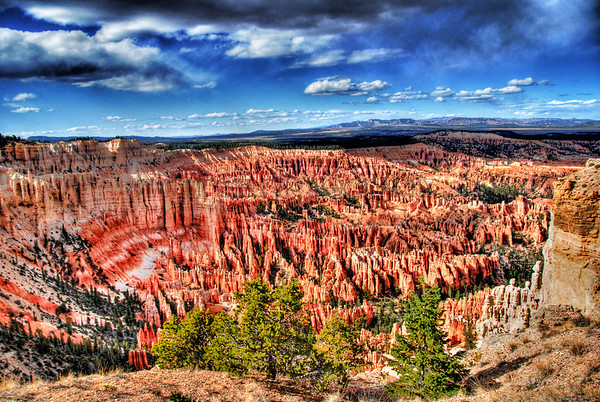 BRYCE AMPHITHEATER, BRYCE CANYON NATIONAL PARK. UTAH