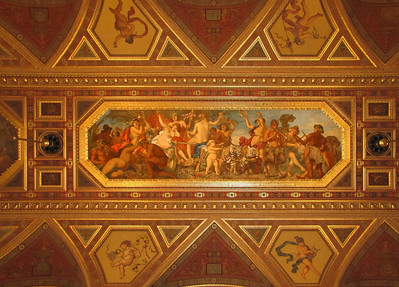 27-Ceiling detail, imperial room (Székely Bertalan Room).
