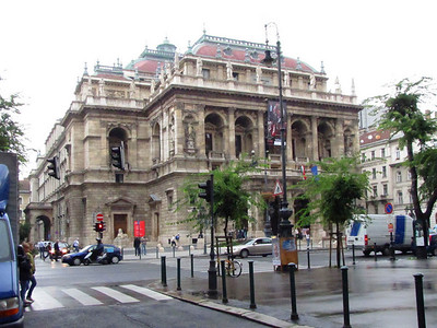 18-The neo-Renaissance Hungarian State Opera House, 1884, is a richly-decorated building and is considered one of the city's most beautiful buildings.