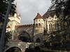 76-Vajdahunyad Castle, 1896. Gothic portcullis evokes medieval fortress.