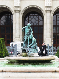 24-Fountain in front of Pesti Vigadó Concert Hall