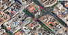 04-Google maps: Jokai Square (lower arrow left): Liszt Ferenc Square (lower arrow right), and Octagon (upper arrow)