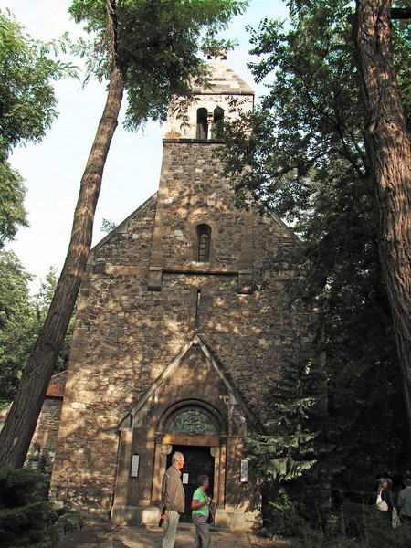 54-Medieval chapel in the woods (1700s)
