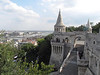 35-Fishermen's Bastion consists of a white rampart and flowing staircases along the eastern front of the Mátyás church.