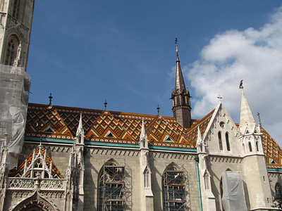27-Mátyás roof and steeples