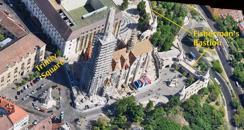 24-Trinity Square, Mátyás Church, Fisherman's Bastion (Google maps)