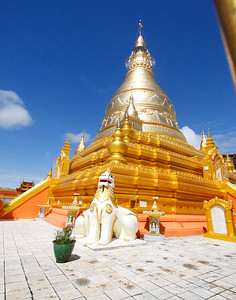 gold covers most of the temples since the middle ages