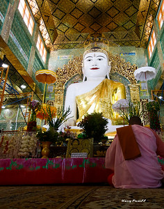 Buddhism is the predominate religion in Burma