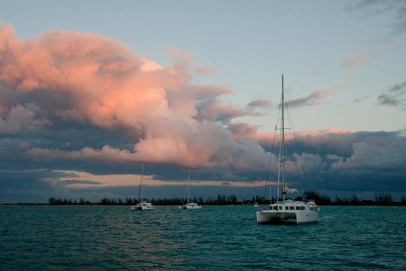 Sunset, Anagada Island.