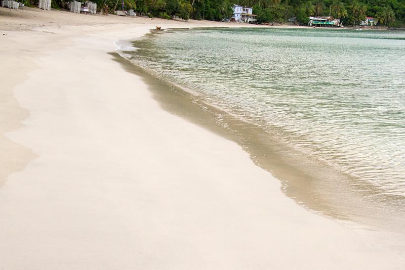 Beach at Cain Garden Bay