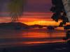 Sun set on Cain Garden Bay