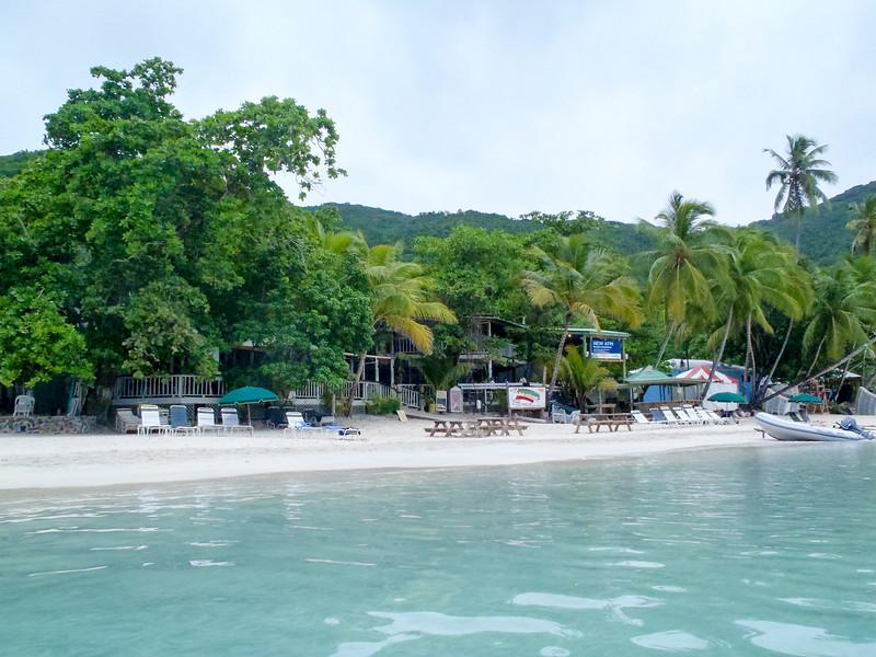 Beach on Tortola's north shore.