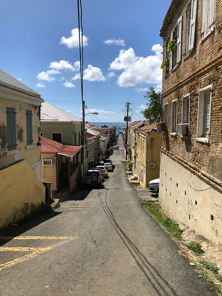 The streets of St. Thomas