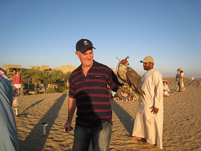 Colin and the falcon